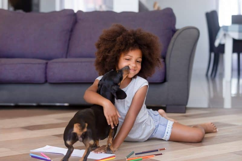 Pets Benefit Children During Remote Learning